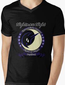 Nightmare Night Mens V-Neck T-Shirt