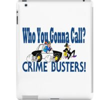 Crime Busters iPad Case/Skin