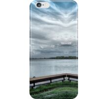 Lake view from the Boardwalk iPhone Case/Skin