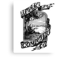 First Apple Logo Canvas Print