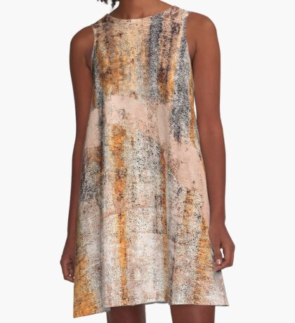 Rust & Concrete A-Line Dress