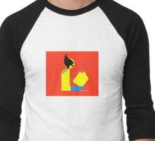 Gentleman Wolvereads Men's Baseball ¾ T-Shirt