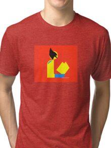 Gentleman Wolvereads Tri-blend T-Shirt