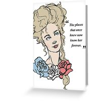 Marie Greeting Card