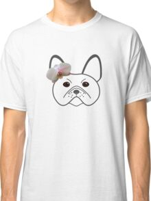 Frenchie Girl Classic T-Shirt