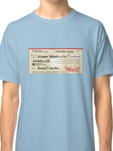 Jesus Paid in Full Check Christian Classic T-Shirt