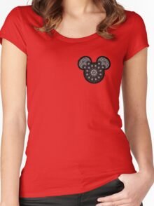 MickeyGang Logo Women's Fitted Scoop T-Shirt