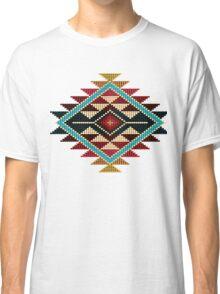 Native American Southwest-Style Rainbow Sunburst Classic T-Shirt