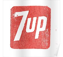 7up Stamp Poster