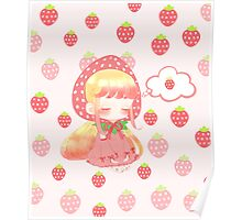 Fruit Girl: Sweet Strawberry Poster