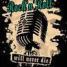 Rock-n-Roll Microphone - green by Bela-Manson