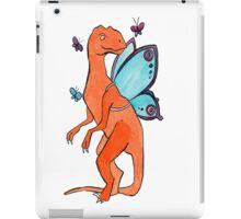 Butterfly Fairy Velociraptor  iPad Case/Skin