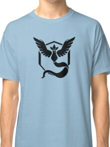 Pokemon GO - Team Mystic (Black) Classic T-Shirt