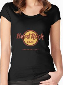 Hard Rock Cafe Pokemon Saffron City Women's Fitted Scoop T-Shirt
