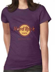 Hard Rock Cafe Pokemon Saffron City Womens Fitted T-Shirt