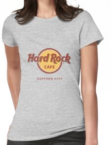 Hard Rock Cafe Pokemon Saffron City Womens Fitted T-Shirt