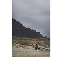 Beach Skyline Photographic Print