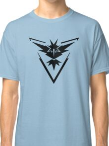 Pokemon GO - Team Instinct (Black) Classic T-Shirt