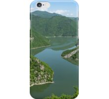 Green Mountains, Spilling in the Lake iPhone Case/Skin