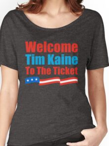 Clinton Kaine Women's Relaxed Fit T-Shirt