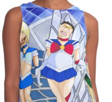 Shingeki No Sailor Scouts Contrast Tank
