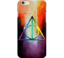 deathly hallow iPhone Case/Skin