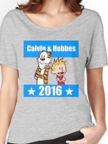 Calvin and Hobbes 2016 Women's Relaxed Fit T-Shirt