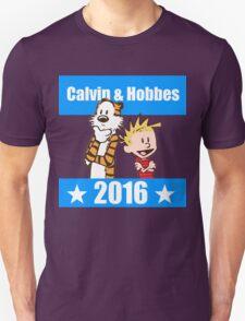 Calvin and Hobbes 2016 Unisex T-Shirt