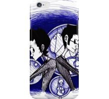Double Team iPhone Case/Skin