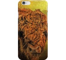 Hairy Highlander iPhone Case/Skin
