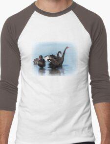 Black Swans Men's Baseball ¾ T-Shirt