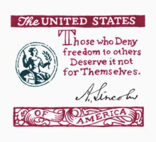Lincoln Freedom Statement T-Shirt