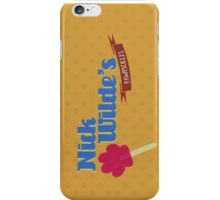 Nick Wildes Pawpscicles iPhone Case/Skin