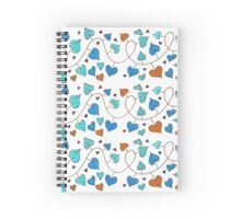 Heart on a rope Spiral Notebook