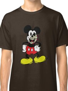 Zombie Mickey Mouse Classic T-Shirt