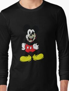 Zombie Mickey Mouse Long Sleeve T-Shirt