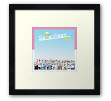 SEVENTEEN 'First Love & Letter' Repackage Framed Print