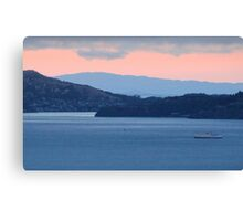 Dusk Cruise on the San Francisco Bay Canvas Print