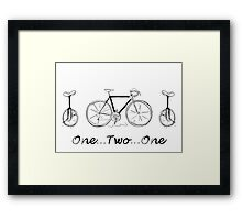 One...Two...One Framed Print