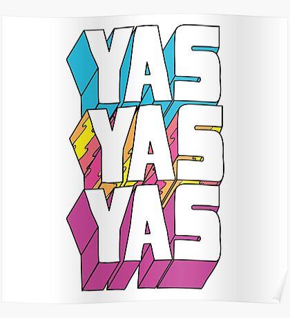 Yas Yas Yas Poster