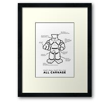 Pillowman | Community Framed Print