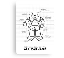 Pillowman | Community Canvas Print