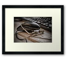Dumb Mouse Framed Print