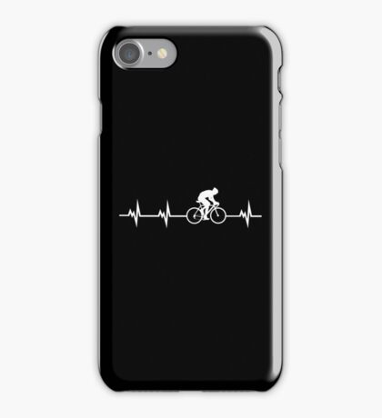Cycling Heartbeat iPhone Case/Skin