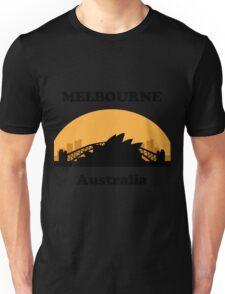 Sydney Tourist, Melbourne Clueless Unisex T-Shirt