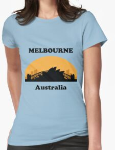 Sydney Tourist, Melbourne Clueless Womens Fitted T-Shirt