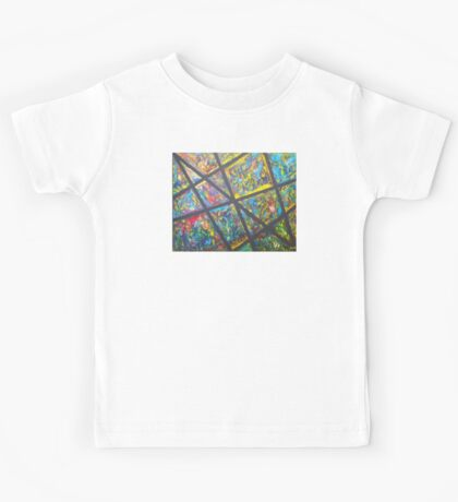 """""""Stained Glass"""" Kids Tee"""