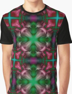Soft drawing with colorful patterns in tie-dye Graphic T-Shirt