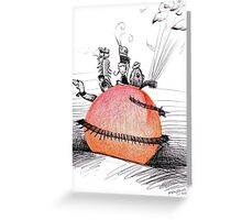 Not So Giant James and The Peach Greeting Card