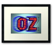 OZ Framed Print